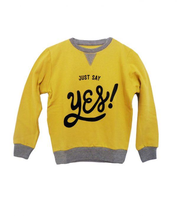 Zippy | Μπλούζα Φούτερ Για Αγόρι Just Say Yes