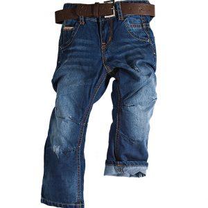Παιδικό Παντελόνι Τζιν Με Ζώνη