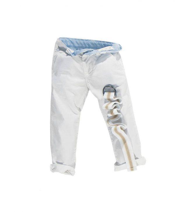 Παντελόνι Λευκό Καπαρντίνα