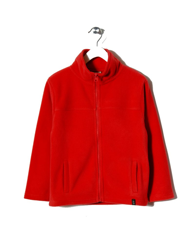 8450e122ba0 Zippy   Παιδική Ζακέτα Κόκκινη Fleece Unisex   Poulain.gr