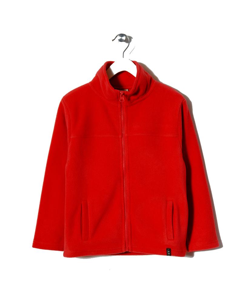Ζακέτα Κόκκινη Fleece Unisex