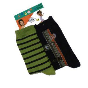 Σετ 2 ζευγάρια κάλτσες για αγόρι Ersa's