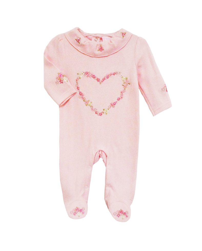8bfc94a068f Φορμάκι Ροζ Με Σχέδιο Καρδιά H9684 Bonjour Bebe