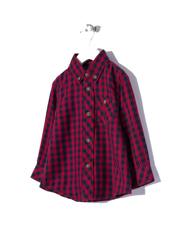 0978ed67231f Πουκάμισο Καρό Κόκκινο-Μπλε Zippy | Παιδικά Πουκάμισα | Poulain.gr