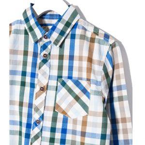 Παιδικό πουκάμισο Καρό Για Αγόρι