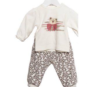 Σετ Μπεμπέ Μπλούζα & Παντελόνι Για Κορίτσι