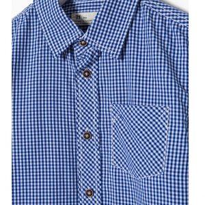 Παιδικό πουκάμισο Μπλε Καρό