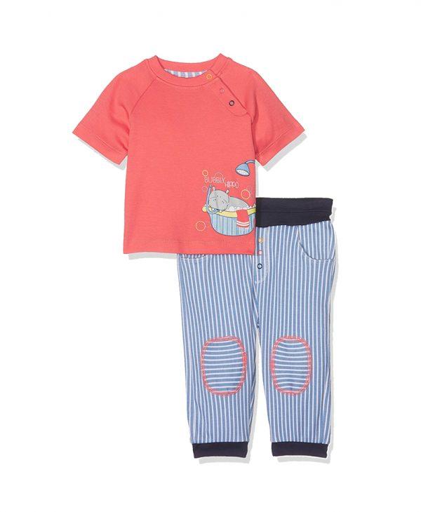 Σετ Βρεφικό Μπλούζα Κοντομάνικη & Παντελόνι