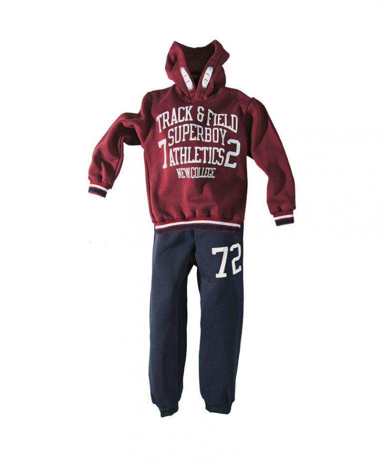 Παιδική φόρμα new college φούτερ για αγόρι