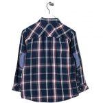 Παιδικό πουκάμισο Μπλε Σκούρο Καρό