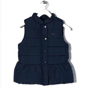 Γιλέκο Μπλε Σκούρο Με Επένδυση Fleece