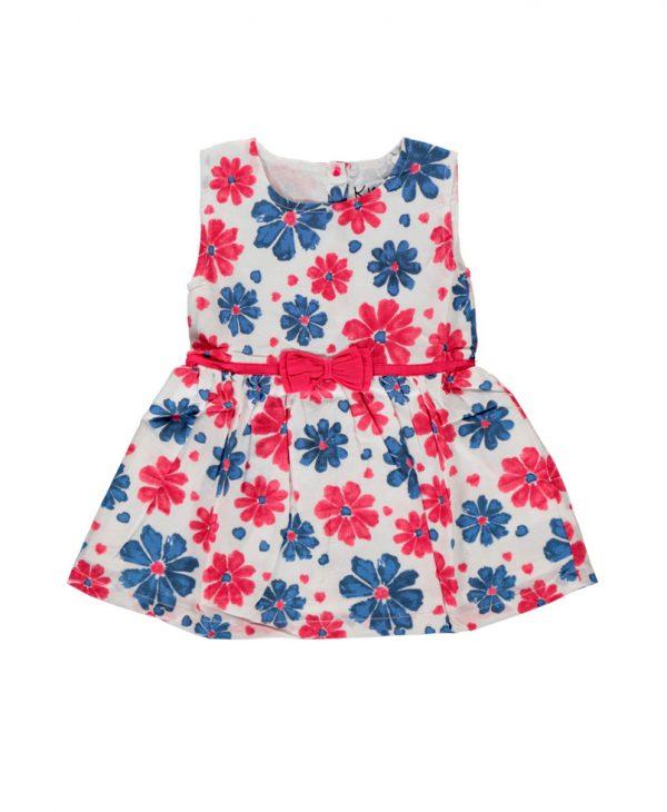 Φόρεμα Μπεμπέ Με Σχέδιο Λουλούδια