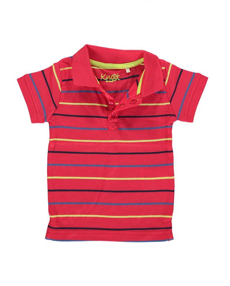 cbf71d7606d6 Μπλούζα Πόλο Μακό Κόκκινη 3210 Knot So Bad