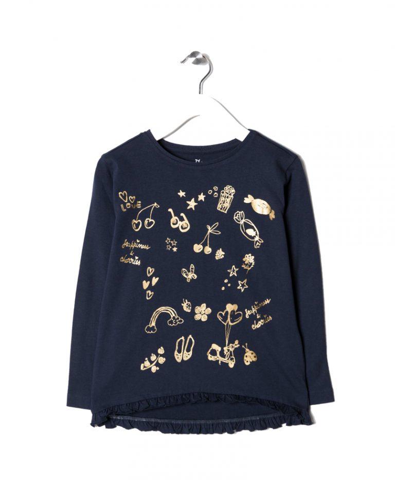 Zippy | Μπλούζα Μακό Μακρυμάνικη Με Σχέδιο Κεράσια