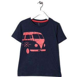 """Μπλούζα Μακό Κοντομάνικη """"Bus"""""""