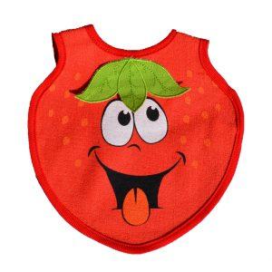 σαλιάρα φράουλα