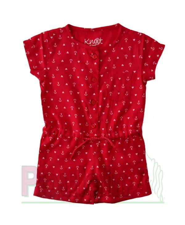Φόρμα Jumpsuit Για Κορίτσι Φούξια