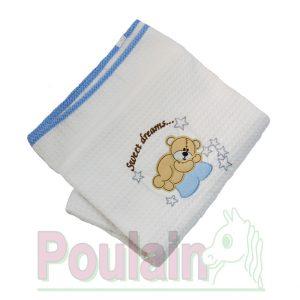 Κουβέρτα Πικέ 100% Βαμβακερή Διαστάσεις 120x160