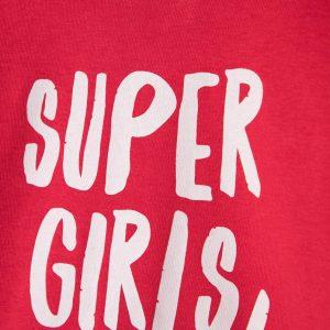 Φόρμα Φούτερ Για Κορίτσι Super Girls!