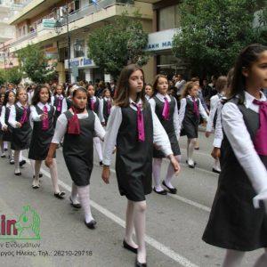Πουκάμισο Λευκό Παρέλασης Για Κορίτσι · Φόρεμα Γκρι Για Παρέλαση · Quick  View ecebf0527e4