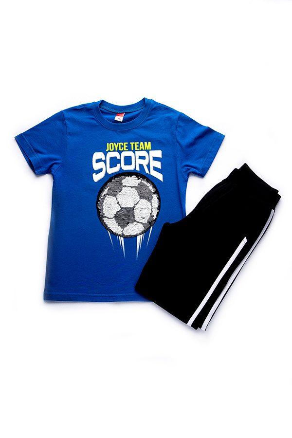 Φόρμα Goal Με Κοντομάνικη Μπλούζα