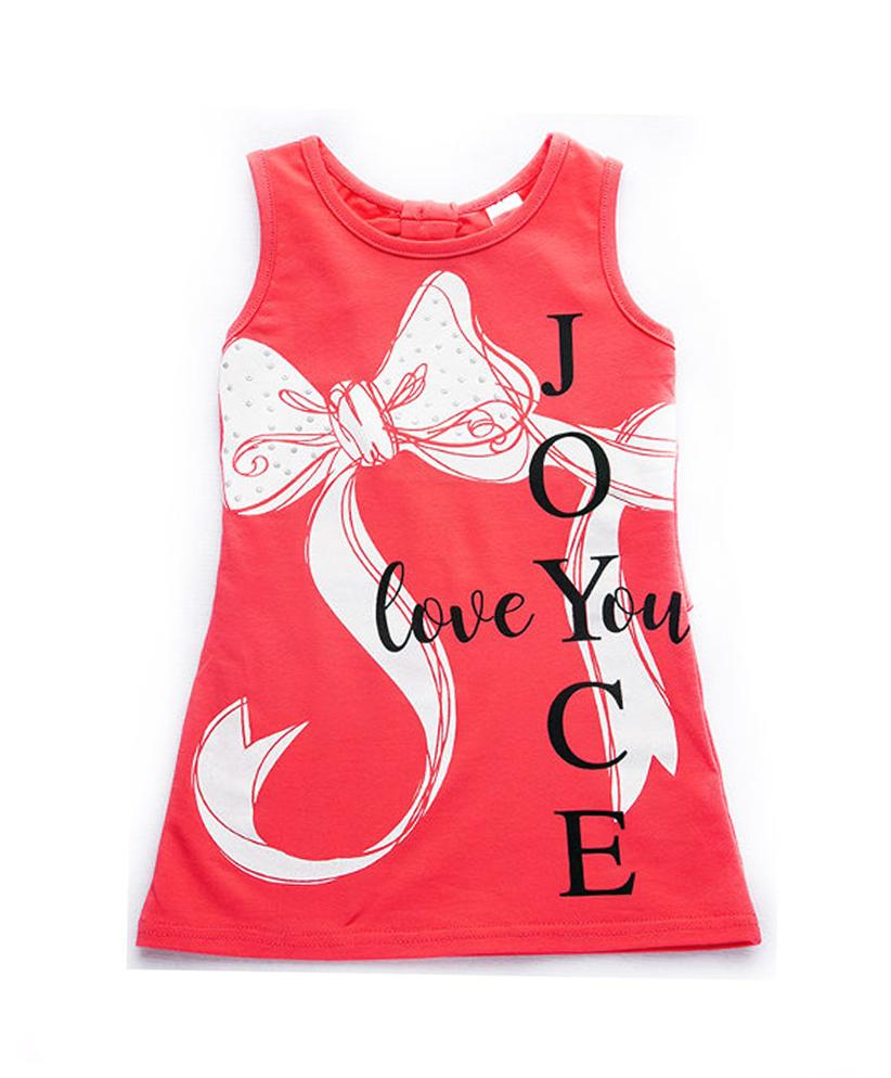 """Φόρεμα Μακό Αμάνικο """"Bow"""" 92408 Joyce"""