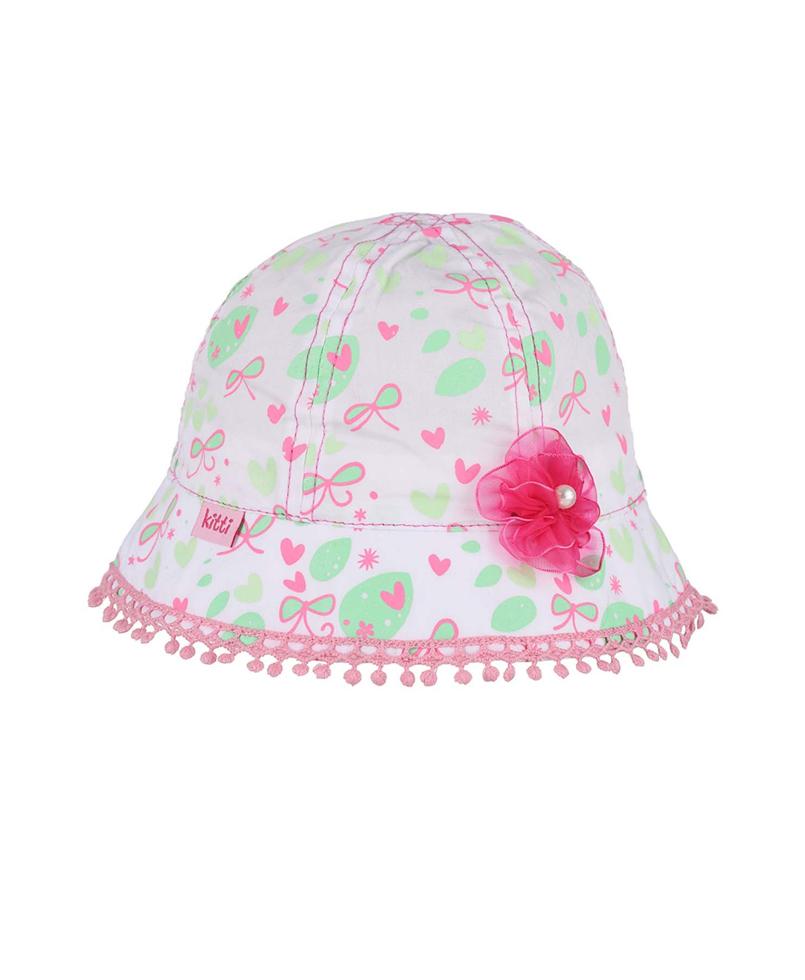 Παιδικό Καπέλο Λευκό Κορίτσι