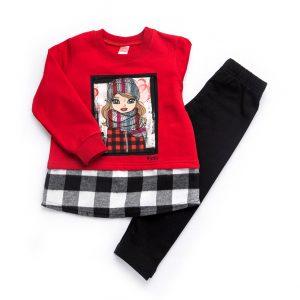 Σετ Girl Μπλούζα & Κολάν 94215 Joyce