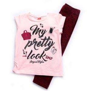 Σετ Pretty Look Μπλούζα & Κολάν 94242 Joyce