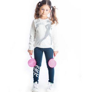 Σετ Go Girl Για Κορίτσι Μπλούζα & Κολάν 94608 Joyce