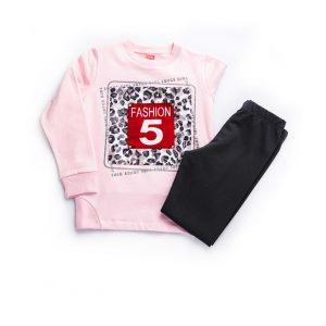 Σετ Fashion 5 Για Κορίτσι Μπλούζα & Κολάν 94610 Joyce