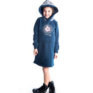 Φόρεμα Με κουκούλα Παγιέτες 94804 Joyce