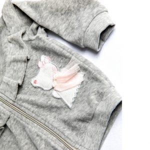 """Βρεφική Ζακέτα Βελούδο Με Επένδυση Γούνα """"Kitty"""" 19531 Dreams"""