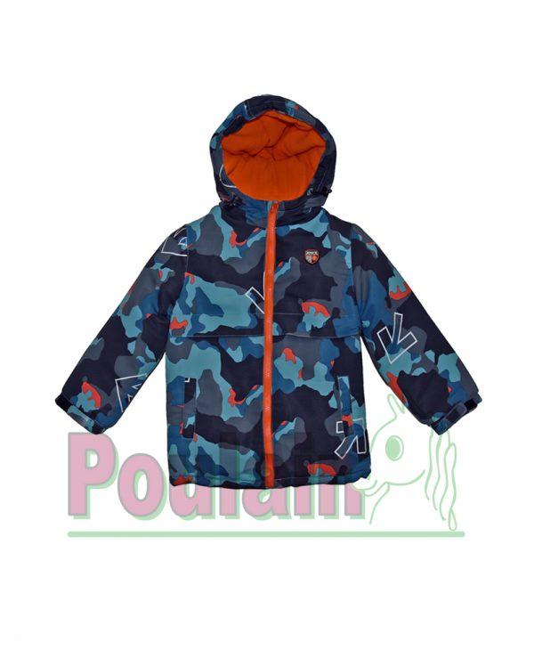 Μπουφάν Με Κουκούλα Και Εσωτερική Επένδυση Fleece 80053 Joyce