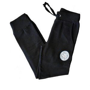 Παντελόνι Φόρμας Φούτερ Μαύρο Εβίτα
