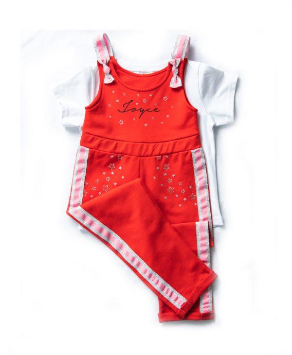 """Ολόσωμη Φόρμα & Μπλούζα """"Set Jumpsuit"""" 201186 Joyce"""