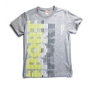 """Κοντομάνικη Μπλούζα """"Sport"""" Γκρι 201484 Joyce"""