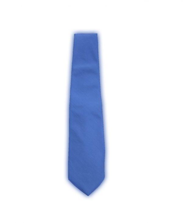 Γραβάτα Εφηβική Ματ Γαλάζιο