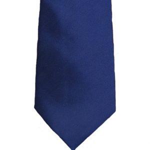 Γραβάτα Εφηβική Μπλε Σκούρο Ανάγλυφη