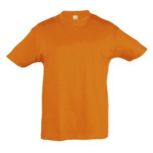 Μπλούζα Κοντομάνικη Πορτοκαλί