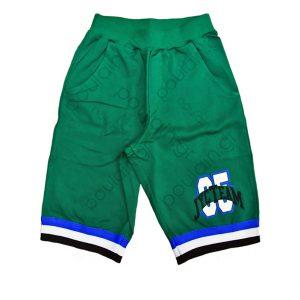 """Βερμούδα """"Basket"""" Πράσινη"""