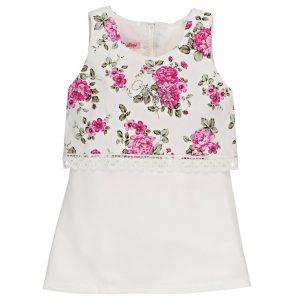 Παιδικό Φόρεμα New College Για Κορίτσι Εμπριμέ