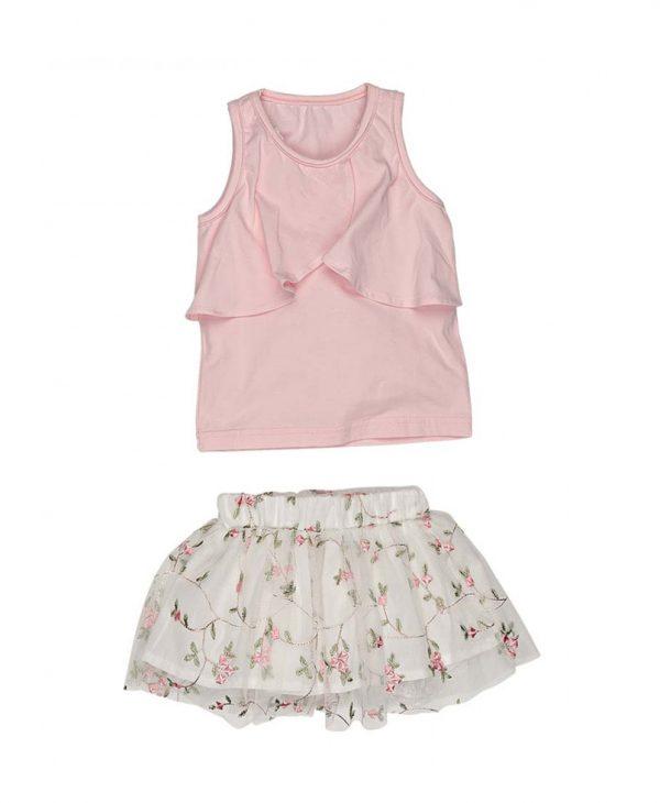 Παιδικό Σετ Μπλούζα & Φούστα