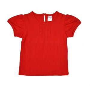 Παιδική Μπλούζα Spirnt Για Κορίτσι Κόκκινη