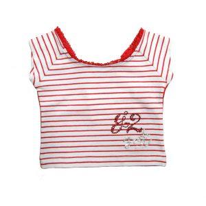 Παιδική Μπλούζα Spirnt Για Κορίτσι Ριγέ