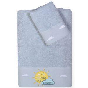 Βρεφικές Πετσέτες Σετ Sunshine