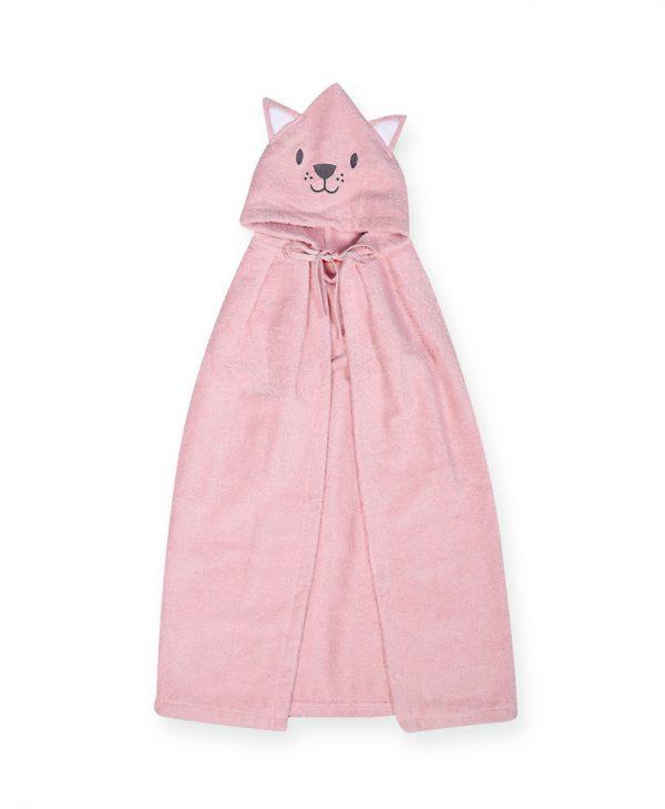 Βρεφική Κάπα Cat Nef-Nef Για Κορίτσι Pink