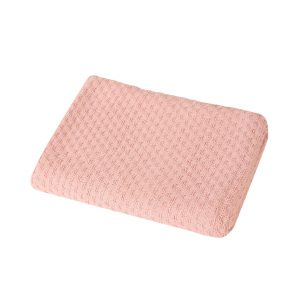 Βρεφική Κουβέρτα Αγκαλιάς 80x110 Smooth Pink Nef-Nef