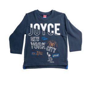 Παιδική Μπλούζα Μακρυμάνικη Μπλε Για Αγόρι 202244 Joyce