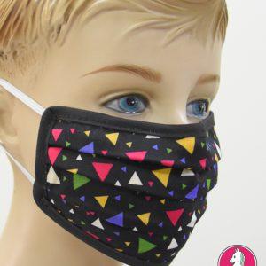 """Παιδική Υφασμάτινη Μάσκα Πολλαπλών Χρήσεων """"Triangles"""""""